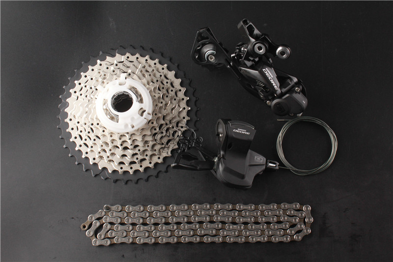 SHIMANO DEORE M6000 1x10 10S Speed 11-42T Groupset Contains Shifter Lever & Rear Dearilleur & Cassette & Chain