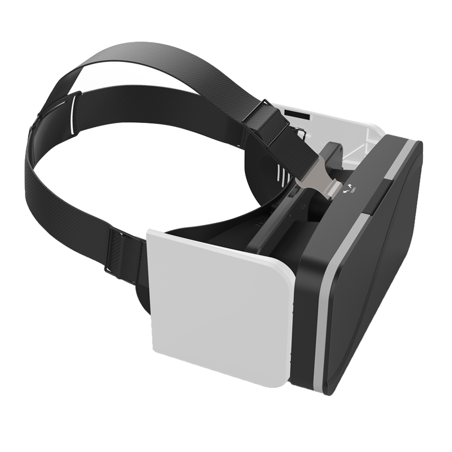 VR Box 3D VR Glasses Headsets 3D Glasses Foldable Virtual Reality Goggles Immersive Cardboard For 4.7-6.0