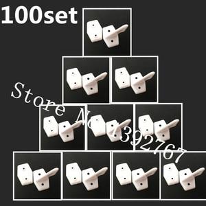 Wholesale 100Set/lot Pin Horns