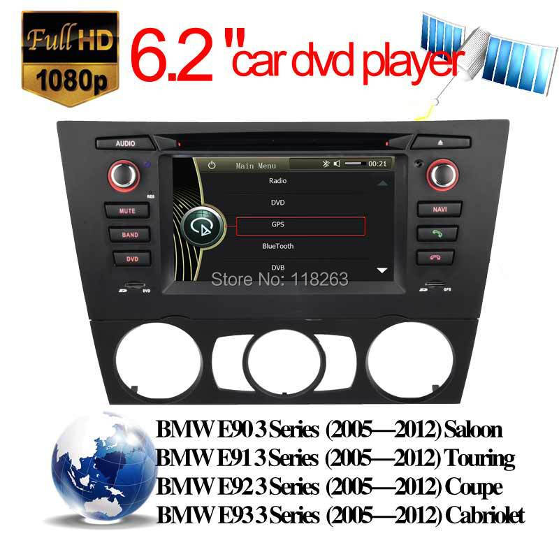 car videos touch screen stereo BMW 3 E90 E91 E92 E93 GPS Navigation support Radio Bluetooth iPod dvb t multi function - Hualingan Technology Co., Ltd store
