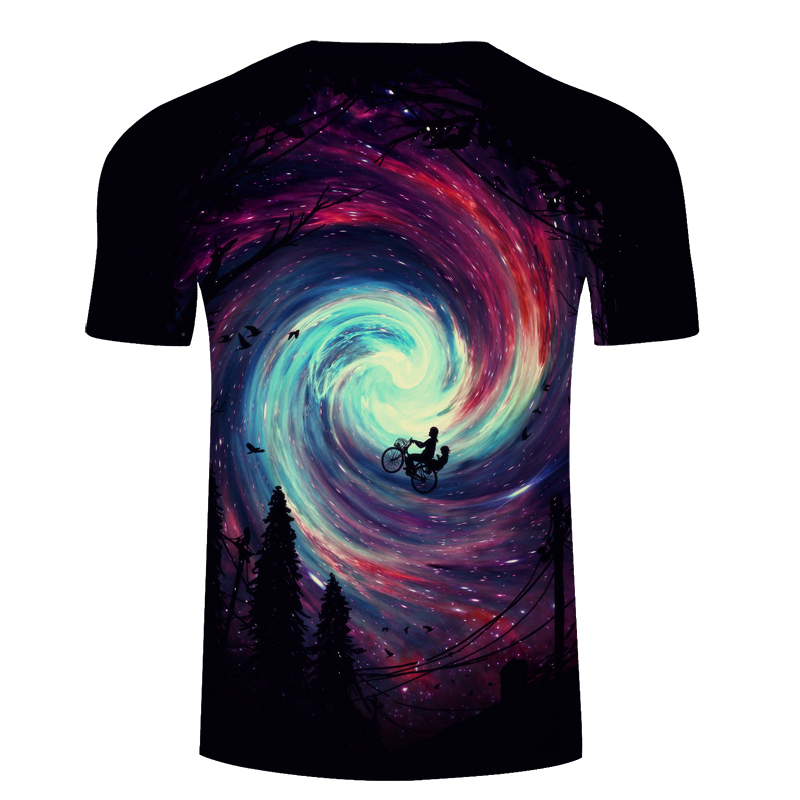 Time Tunnel&Riding 3D Print t shirt Men Women tshirts Summer Funny Cartoon Short Sleeve O-neck Tops&Tees Drop Ship ZOOTOP BEAR