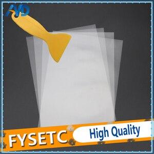 4 sheets FEP Film 140x200mm x 0.1mm DLP LCD SLA Resin 3D Printer For Elegoo Mars Wanhao Duplicator D7, Photon(China)