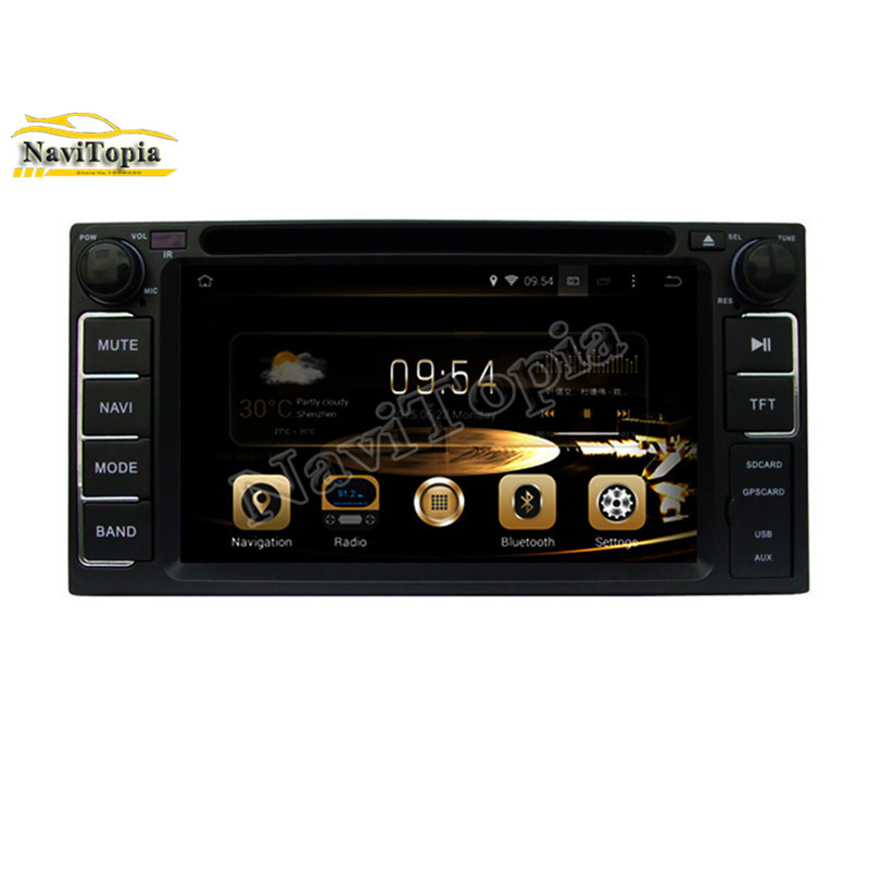 цена на Ectwodvd 4G RAM Octa Core Android 6.0 Car GPS Navigation for Toyota CELICA for Toyota MR2 for Toyota 4RUNNER Car DVD Multimedia