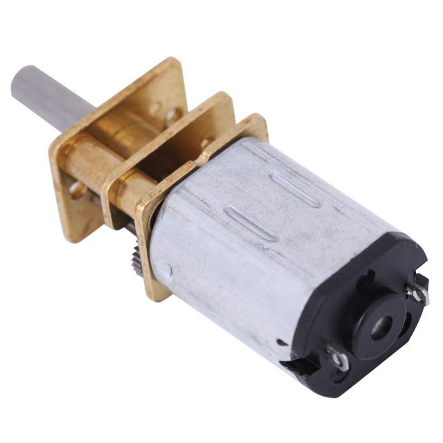 GA12-N20 DC12V Gear Motor Speed Reduction Gear Motor w/ Metal Gearbox 2000RPM Micro DC Geared Motor