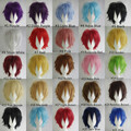 "Cheap Super Deal 50% OFF Promotion 30cm/12"" Full Short Hair Multi-Color Cosplay Wigs for Party ,Halloween"
