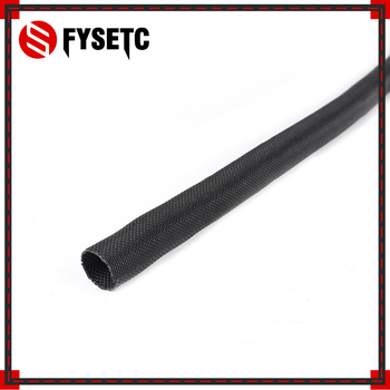 3 sztuk części drukarki 3D L 50CM OD 13mm tekstylne kabel rękawowy owijanie drutu podłączony kabel do wytłaczarki Prusa i3 MK2S/MK2.5/MK3
