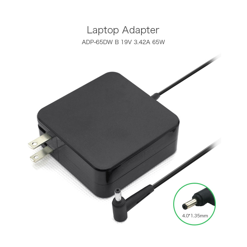 RongTop Laptop adapter charger 65W 19V 3.42A 4.0*1.35mm For Asus Zenbook Prime UX32VD-BHI7N55 ADP-65DW B ADP-65AW A US plug