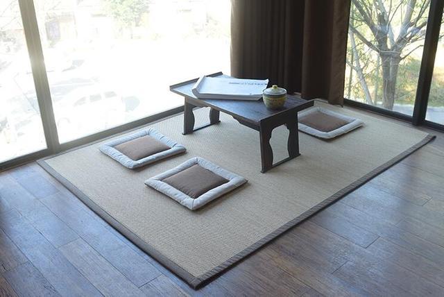 Pavimento In Bambù Caratteristiche : Giapponese pavimento di bambù pad tappeto grande rettangolo