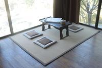 Japanese Floor Bamboo Carpet Pad Large Rectangle 130X180cm Mattress Mat Portable Tatami Fashion Rug Designer Bamboo Silk Carpet