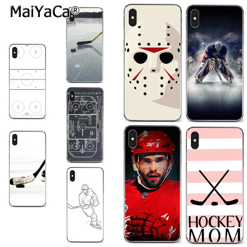 MaiYaCa Fantasy Hockey Goalie Pro High Quality Classic Phone Accessories Case for iPhone X XS MAX 5 6SPLUS 7 8plus case Coque