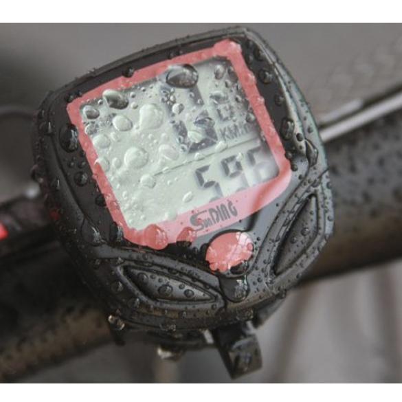 цена на 1pc Bike Computer With LCD Digital Display Waterproof Bicycle Odometer Speedometer Cycling Stopwatch Riding Accessories Tool