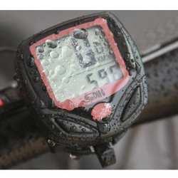 1 шт. велосипед компьютер с ЖК дисплей цифровой дисплей Водонепроницаемый одометр для велосипеда Спидометр Велоспорт секундомер езда