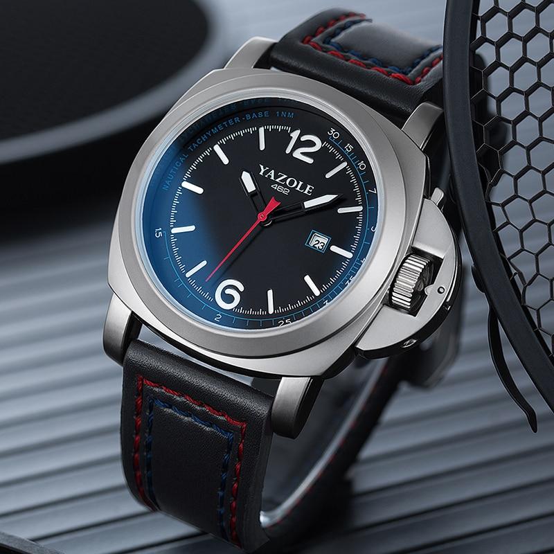 Mens Watches Top Brand Luxury YAZOLE Watch Men Multi-function Dial Waterproof Luminous Male Clock Fashion Business Watches 2019
