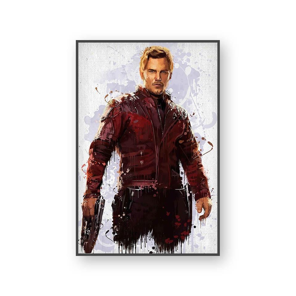 Настенный художественный холст с печатью постера, настенные картины для домашнего декора, Марвел, Мстители, фильм супергерой, Дэдпул, Железный Человек-паук, Локи - Цвет: L394G