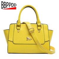 2018 Women Genuine Leather Handbags Women Messenger leather bags Lady Real Leather Tote Messenger Bags Fashion Shoulder Bag