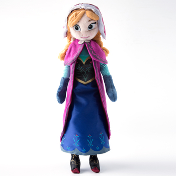 40cm 2pcs/lot Plush Doll Toys Unique Gifts Cute Girls Toys Princess Anna& Elsa Doll Girl Birthday Gifts Pelucia Boneca Juguetes 1