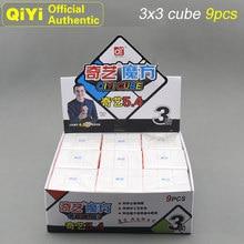 QiYi 3x3x3 Heat Thermal Transfer Print Magic Cube 9 PCS/Set MoFangGe XMD 3x3 Cubo Magico NEO Speed Fidget Toys