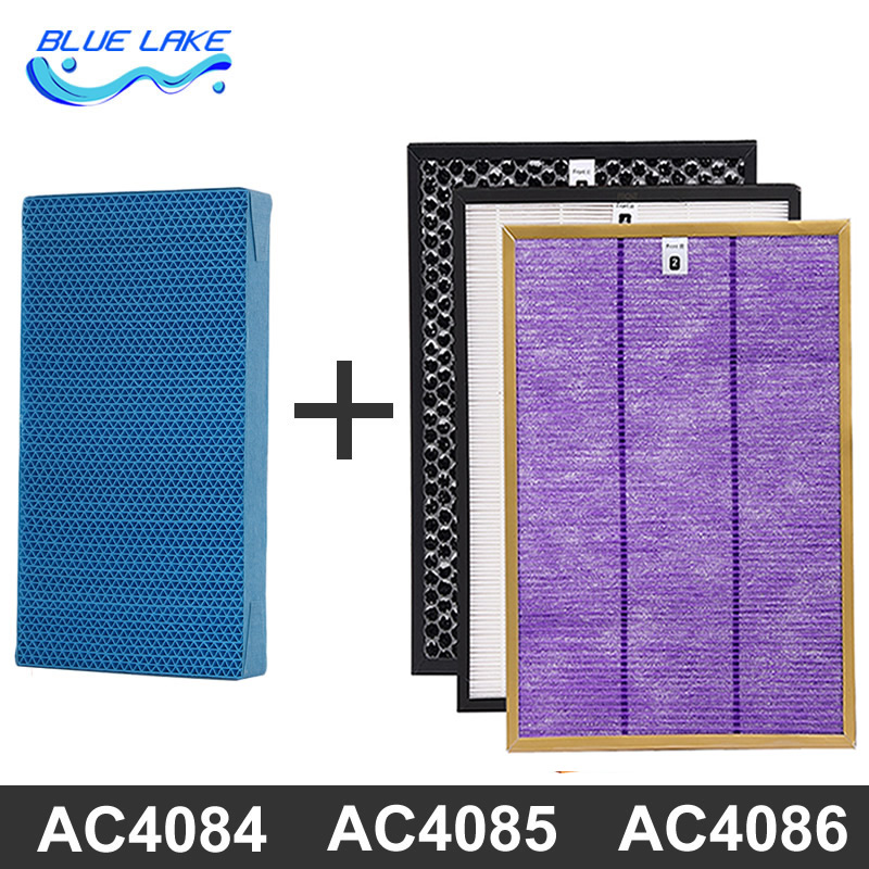 Value package,For Philips air purifier ac4084/85/86,Formaldehyde filter /Activated carbon filters/ Hepa/Humidification filter цена и фото