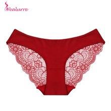 Wealurre, сексуальное кружевное женское нижнее белье, прозрачные трусики для женщин, бесследные, промежность, трусы, трусы, женское Бесшовное белье