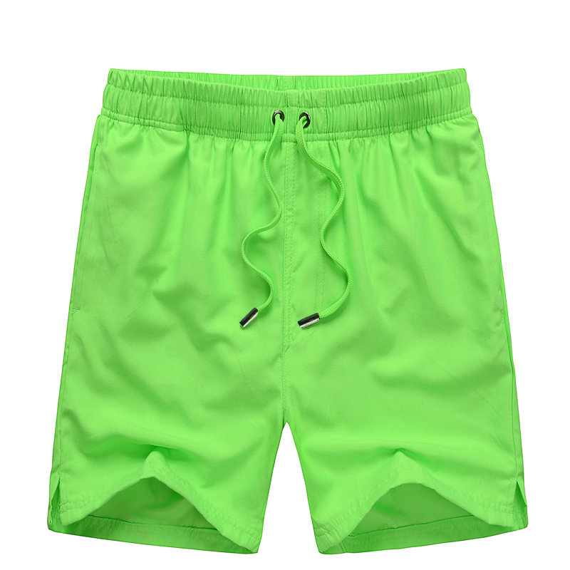 Quick Dry Men   Shorts   Solid Beach   Shorts     Board     Shorts   Beach Pants Many Color Optional 1408