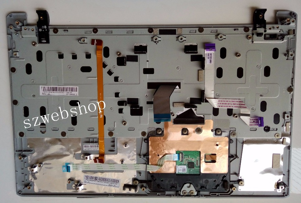 SZYJT New for Acer V5-551G V5-551 UK Keyboard Laptop Backlit Palmrest /& Touchpad Cover