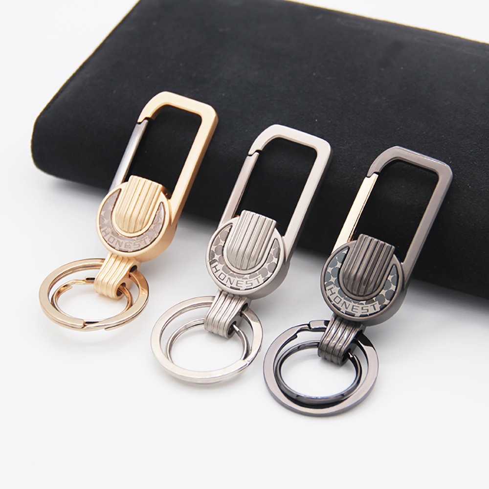Honest High-Grade Men KeyChain Buckle For Car Key Chain Holder Ring Fashion Jewelry Best Gift Zinc Alloy KeyChains Bag Pendant