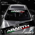 car stickers abarth windshield glass stickers reflectorised after front rise case for fiat ford foucs toyota and so on