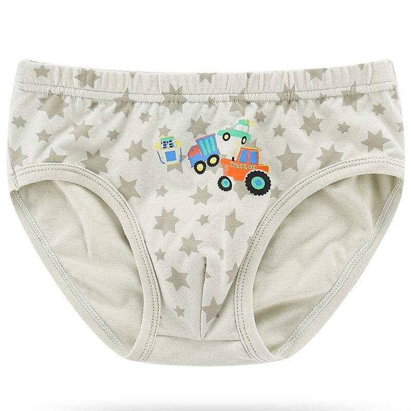 Boy Underwear Kids Digging Machine Panties New Style Children 39 s Underpant Cotton Cartoon Car Print Boy Shorts Toddler Briefs New