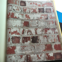 Beibehang Vintage Village Weathered Brick Brick Shop Wallpaper Wallpaper For Walls 3 D Papel De Parede