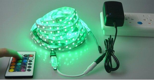 Rgb led strip 5m 60led 5050 smd dc12v ip20 non waterproof battery rgb led strip 5m 60led 5050 smd dc12v ip20 non waterproof battery powered colored led aloadofball Choice Image