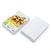 100 шт./лот глянцевая бумага для печати фотобумага принтер фотобумага фото удобный принтер