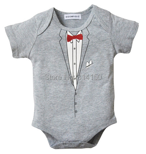Baby Boys Rompers Kid Cotton Body Suits Modelling Doctor And Gentleman Jumpsuits Toddler Summer One-piece 1pcs free shipping