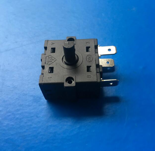 Home Appliance Parts 13a-120v Ac Rotary Switch 4 Position 3 Speed Selector Electric Oven Fragrant Aroma