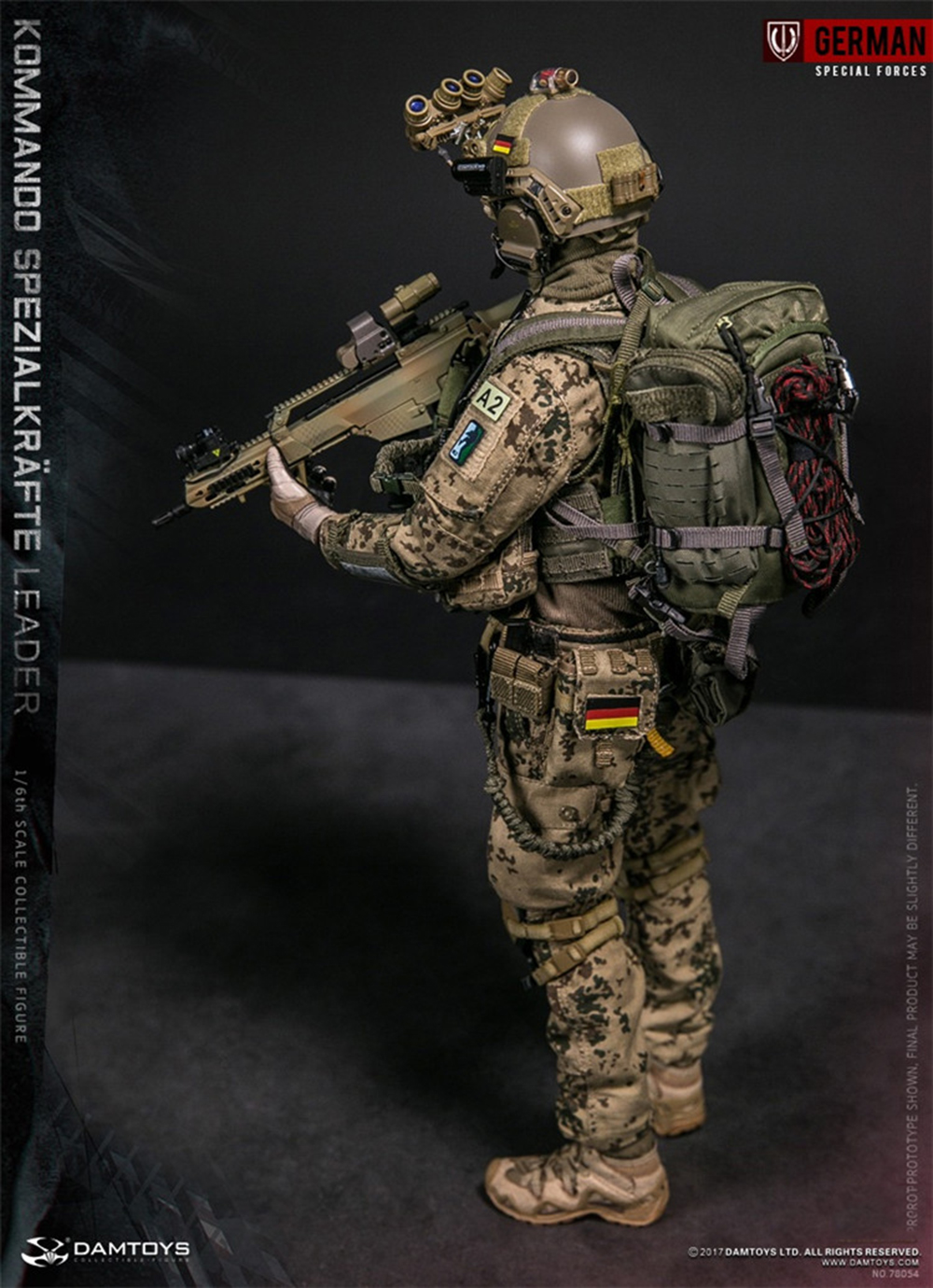 Kommando Spezialkrafte Marine-Fournitures médicales 1//6 Scale-Soldier Story