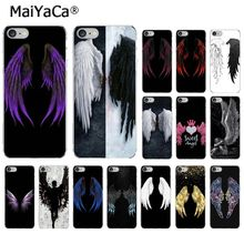 MaiYaCa Angel Wings New Arrived High Quality Luxury phone case for iPhone 5 5S SE 6 6s 7 7plus 8 8Plus XRX XS MAX cover