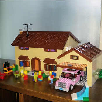 16005 2575PCS Compatible 71006 Simpsons House Sets Model Building Kits Blocks Bricks Toys For Boys Girls Kids Gifts - DISCOUNT ITEM  20% OFF All Category