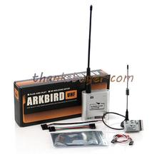 Arkbird 433UHF Sistema RC Transmisor + Receptor de Largo Alcance 100 mw-1400 mw Ajustable Apoyo Wfly Futaba FPV & otros