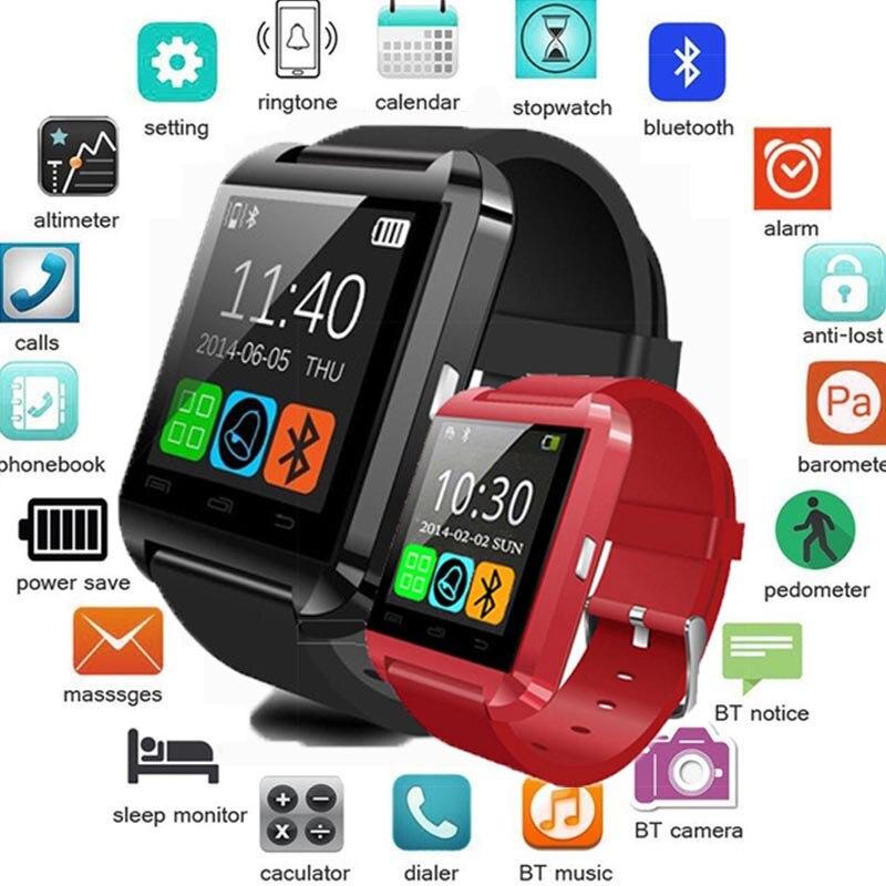 Do bluetooth Inteligente Relógio Relogio SmartWatch Android Phone Call Sim GSM Câmera Remota Informações Exibição Pedômetro Esportes pk Y1 A1