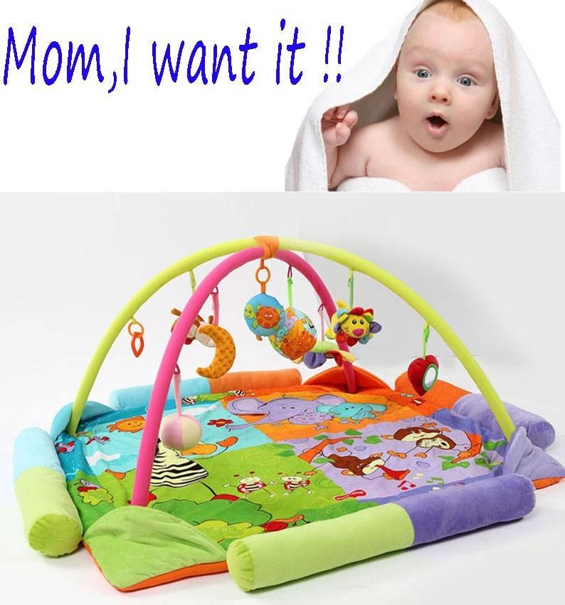 Marque nouveau-né bébé jouer tapis musique infantile jeu Pad bambin tapis ramper tapis bébé parc lit bébé développement éducation tapis