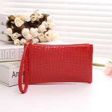 Day clutch female 2017 summer for Crocodile women s handbag messenger bag small bags