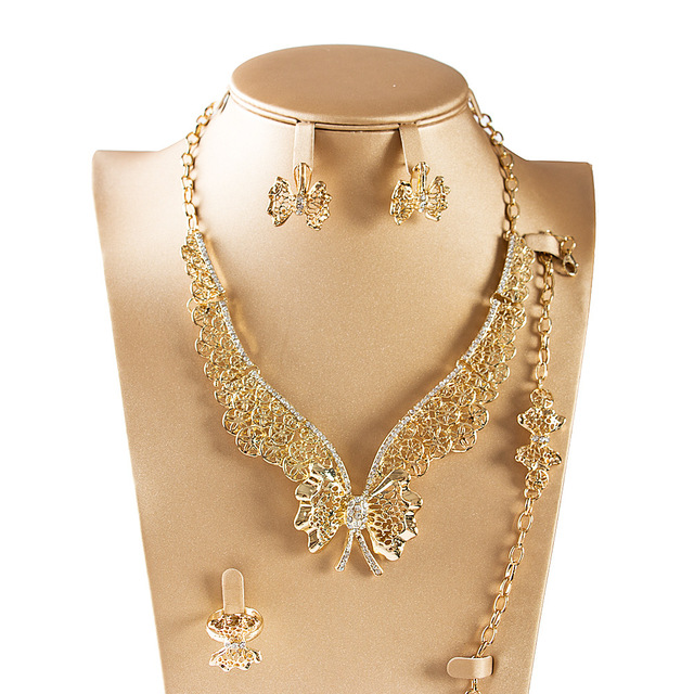 2017 Dealky Stylish Indian Gold Necklace Costume Jewelry Design Fashion Gold Plating Jewellery Set Free Shipping  sc 1 st  AliExpress.com & 2017 Dealky Stylish Indian Gold Necklace Costume Jewelry Design ...