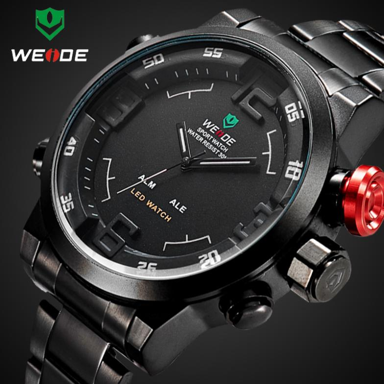 aliexpress com buy weide wristwatch mens top luxury brand aliexpress com buy weide wristwatch mens top luxury brand military 3atm led digital analog new sport watches quartz wristwatches 6 colors from reliable