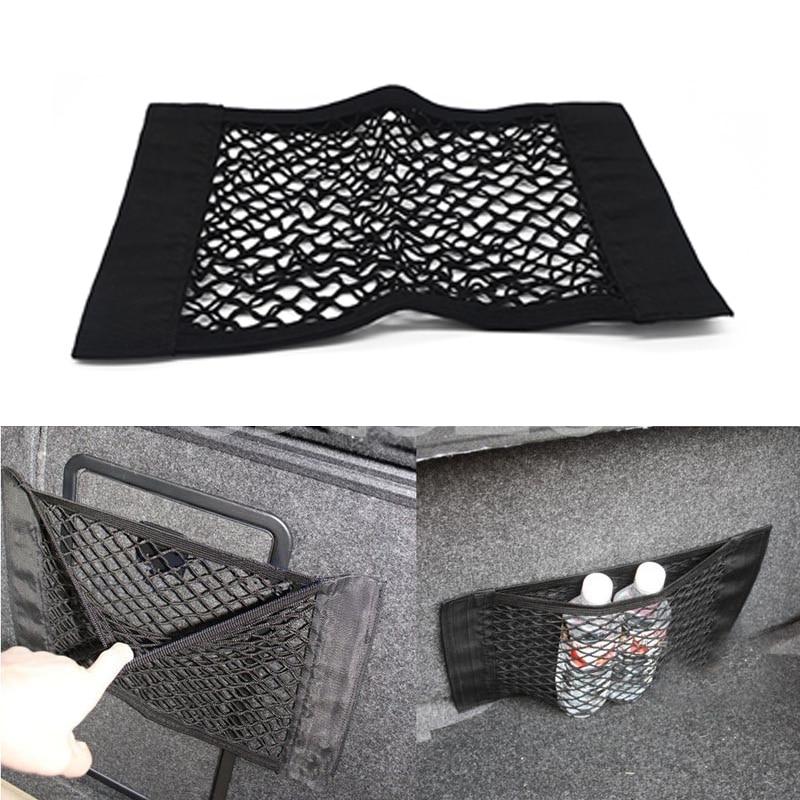Atrée Voiture Tronc bagages Net Voiture de Coiffure Pour Alfa Romeo 147 156 159 166 Porsche Fiat 500 Punto Bravo Stilo Doblo accessoires