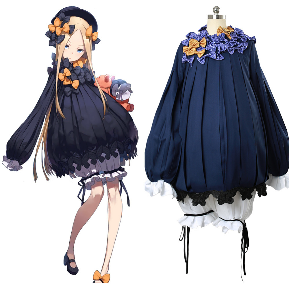 Fate Grand Order Cosplay Abigail Williams Cosplay Costume Cloak Halloween Carnival Cosplay Costumes