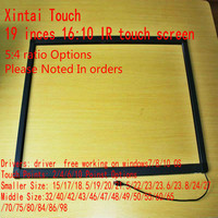 19 inch 2 points IR touch screen / IR touch panel for touch table, kiosk etc