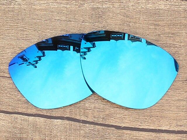 Gelo Azul Espelho óculos Polarizados óculos de Armação de Lentes de  Reposição Para óculos de Sol 3e59f97211