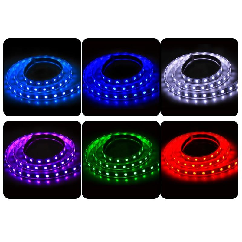 1 M IP67 tube wodoodporna taśma led USB Światła 60 leds DC 5v 5050 - Oświetlenie LED - Zdjęcie 6