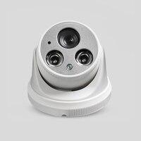 YiiSPO 1080P kamera IP full HD H.265/H.264 2.0MP kryty noktowizor P2P kamera telewizji przemysłowej kamera ONVIF array wbudowany mikrofon audio w Kamery nadzoru od Bezpieczeństwo i ochrona na