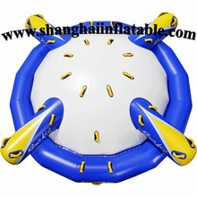 0.9MM PVC big spinner inflatable water park water sports game