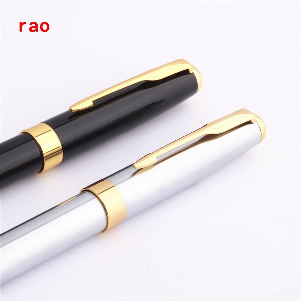 Luxury pen Baoer 68 Black Brand  School office Medium nib Ballpoint Pen New
